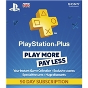 Playstation Plus 90 Day Subcribtion