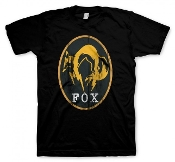 Metal Gear Solid 5 T-Shirt Fox Black