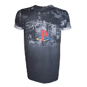 PlayStation - T-shirt with Classic Logo