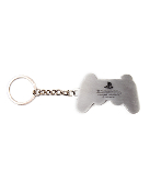 PS2 Controller Metal Keychain