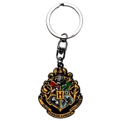 "HARRY POTTER -  ""Hogwarts"" Metal Keychain"