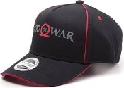 GOD OF WAR Logo Print Curved Bill Cap