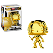 Funko Pop! Marvel Studios - Black Widow (Chrome) #380