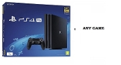 PlayStation 4 Pro Console Including Any Game*