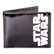 Star Wars Logo Bifold Wallet Coin Pouch, 12 cm, Black