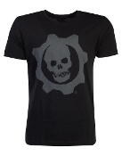 GEARS OF WAR - SKULL BADGE - MEN'S T-SHIRT
