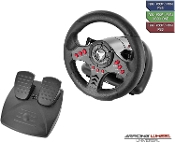 Subsonic Universal Racing Wheel with Pedals