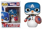 POP! Marvel - Holiday #532 Cap Snowman (Captain America)