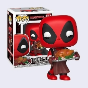 Funko POP! Marvel Holiday Deadpool # 534 Vinyl Bobble Head