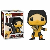 FUNKO POP GAMES: Mortal Kombat - Scorpion Vinyl Figure