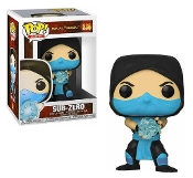 Funko Pop! Games: Mortal Kombat - Sub-Zero Vinyl Figure
