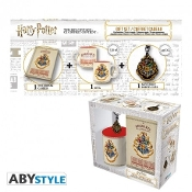 "HARRY POTTER - Pck Mug320ml + Keyring + Notebook ""Hogwarts"""