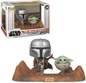 Funko Pop!Moment Star Wars:The Mandalorian - Mandalorian w/Child