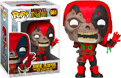 Funko Pop! Marvel Zombies - Deadpool Zombie #661