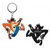Crash Bandicoot - Crash Rubber Keyring