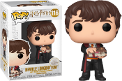 Funko Pop! Neville Longbottom with Monster Book #116