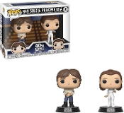 Funko Pop! Starwars : Han Solo & Princess Leia 2Pack