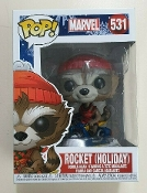 Funko Pop! Marvel- Rocket Holiday #531